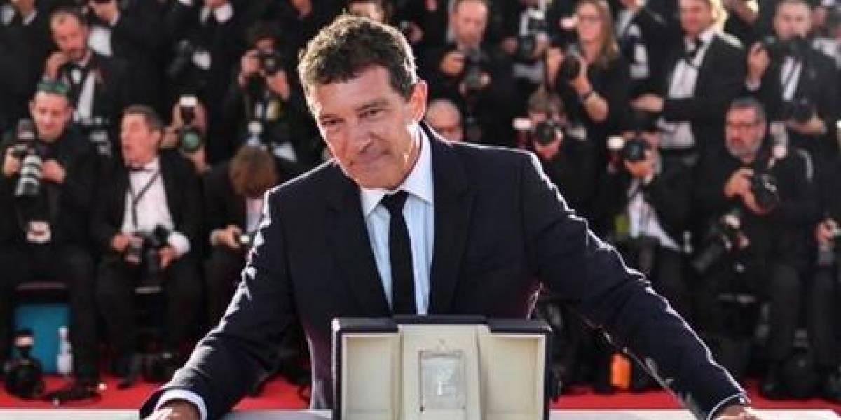 Antonio Banderas fue reconocido en Cannes
