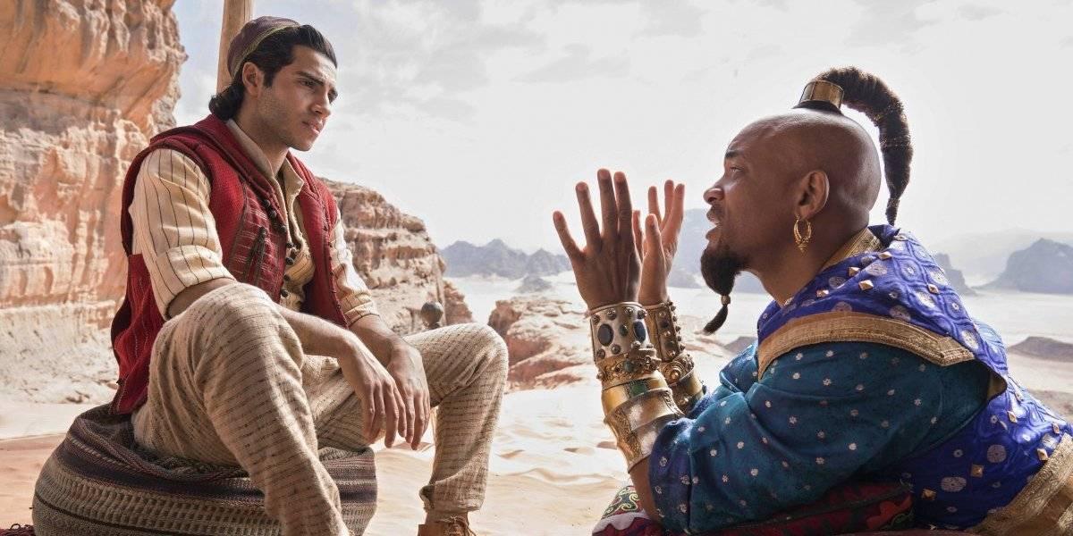 """""""Aladdin"""" se roba el show en las taquillas y se posiciona primera"""