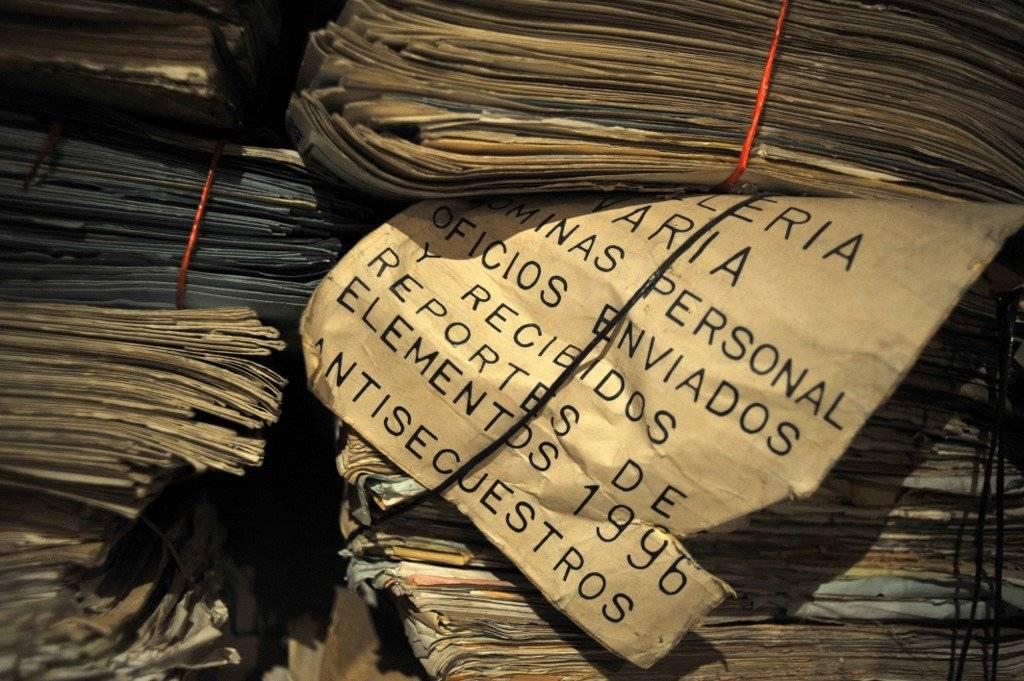 Archivo histórico de la Policía Nacional