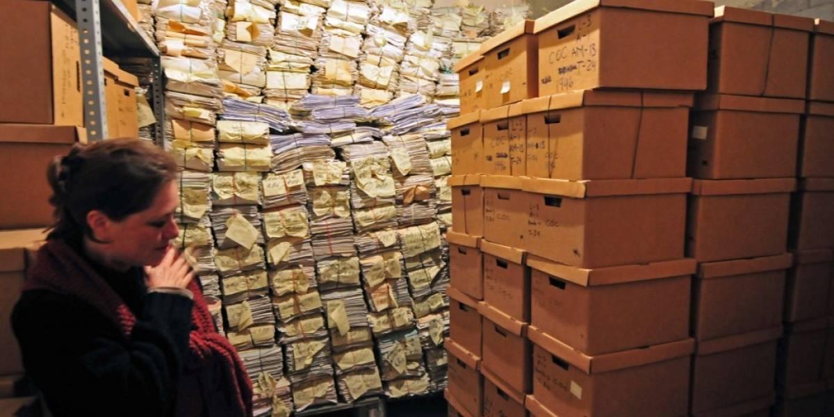 """PDH y Asociación Amigos de la UNESCO exponen """"peligro por destrucción"""" del archivo de la Policía"""