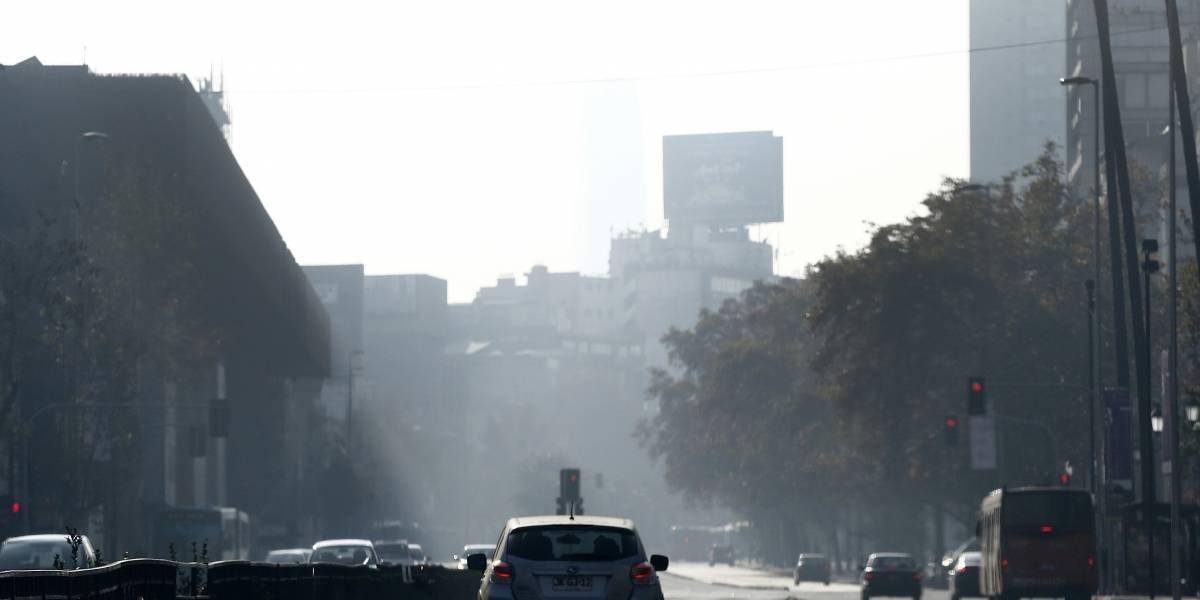 No mejora la ventilación en la Región Metropolitana y decretan tercera alerta ambiental para hoy