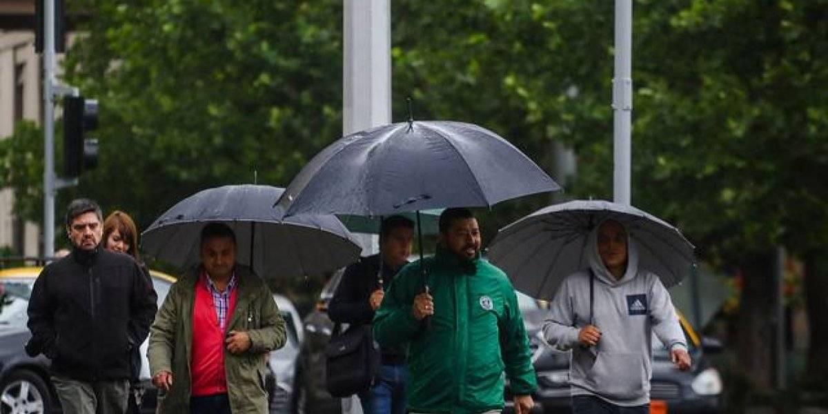 Primera lluvia intensa llegará a la capital este miércoles