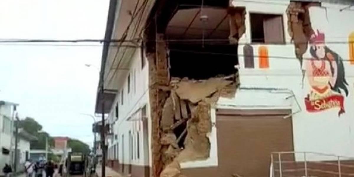 Estas son las fuertes imágenes y videos que dejó el terremoto en Perú, Colombia, Ecuador y Brasil
