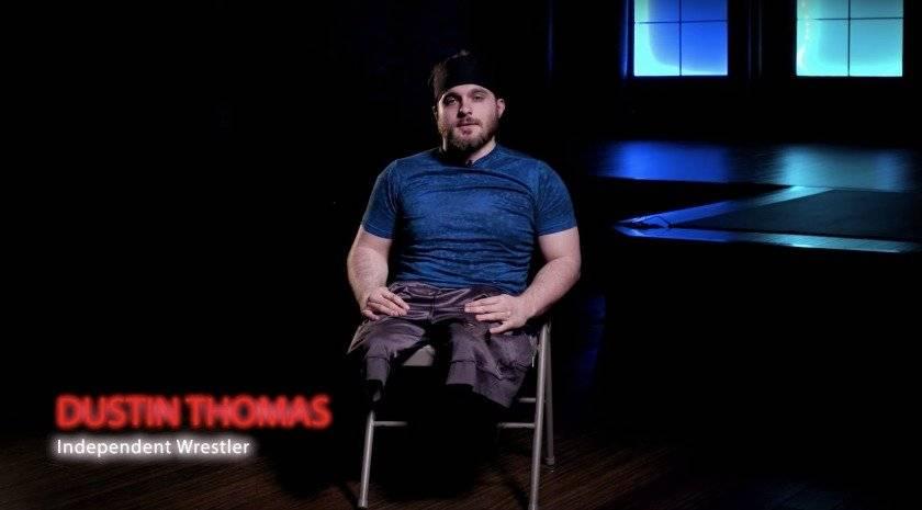 luchador sin piernas