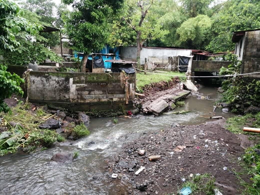 Desbordamiento río Puca