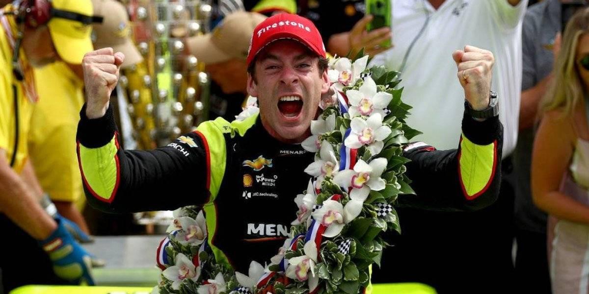 Simon Pagenaud gana por primera vez las 500 millas de Indianápolis en un final de infarto
