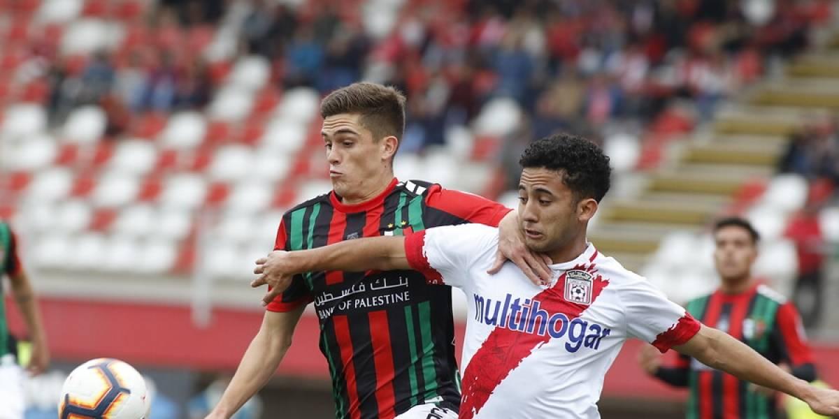 Curicó y Palestino empataron en intenso duelo y se quedan en la zona media del Campeonato Nacional