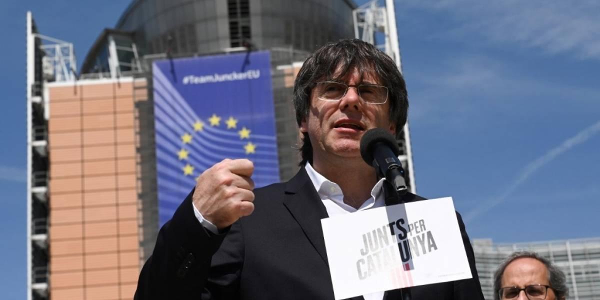 Independentista Puigdemont y Junqueras, elegidos eurodiputados