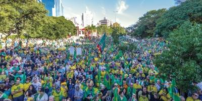 protesto pró-bolsonaro poa
