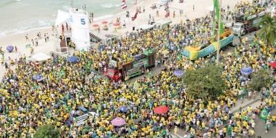 protesto pró-bolsonaro rj