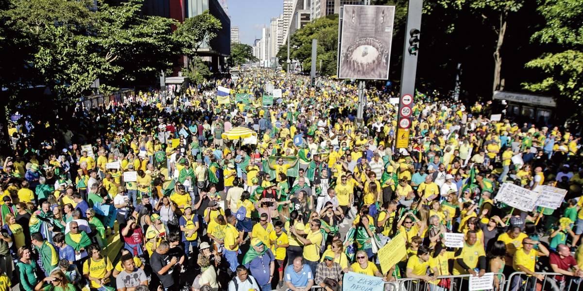 Atos pró-Bolsonaro em 156 cidades pedem reformas e atacam o Centrão