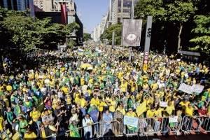 protesto pró-bolsonaro sp