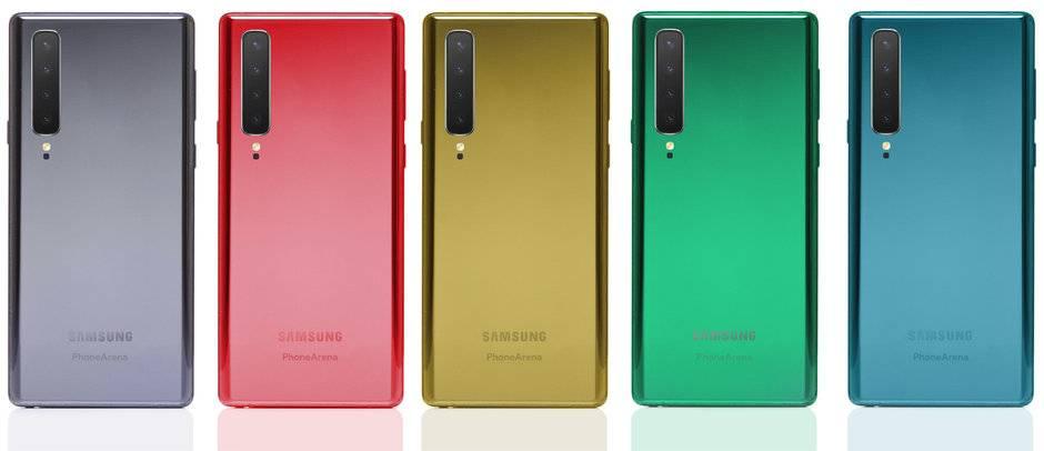 Así va a ser el extraño Samsung Galaxy Note 10