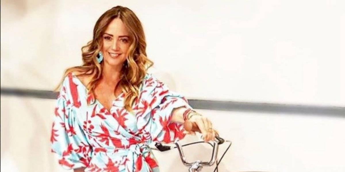 Andrea Legarreta enciende las redes con su transparente blusa y arranca suspiros
