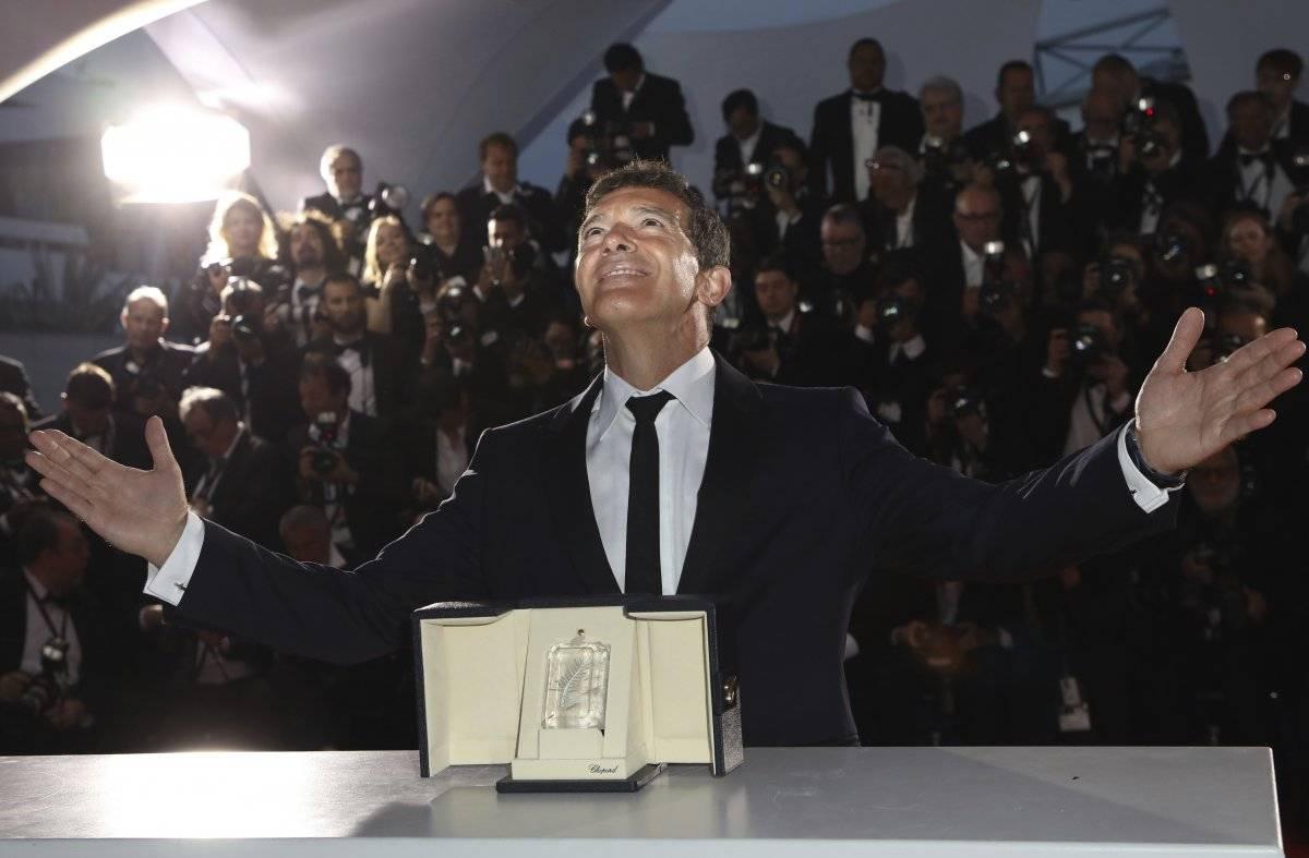 Antonio Banderas gana en Cannes