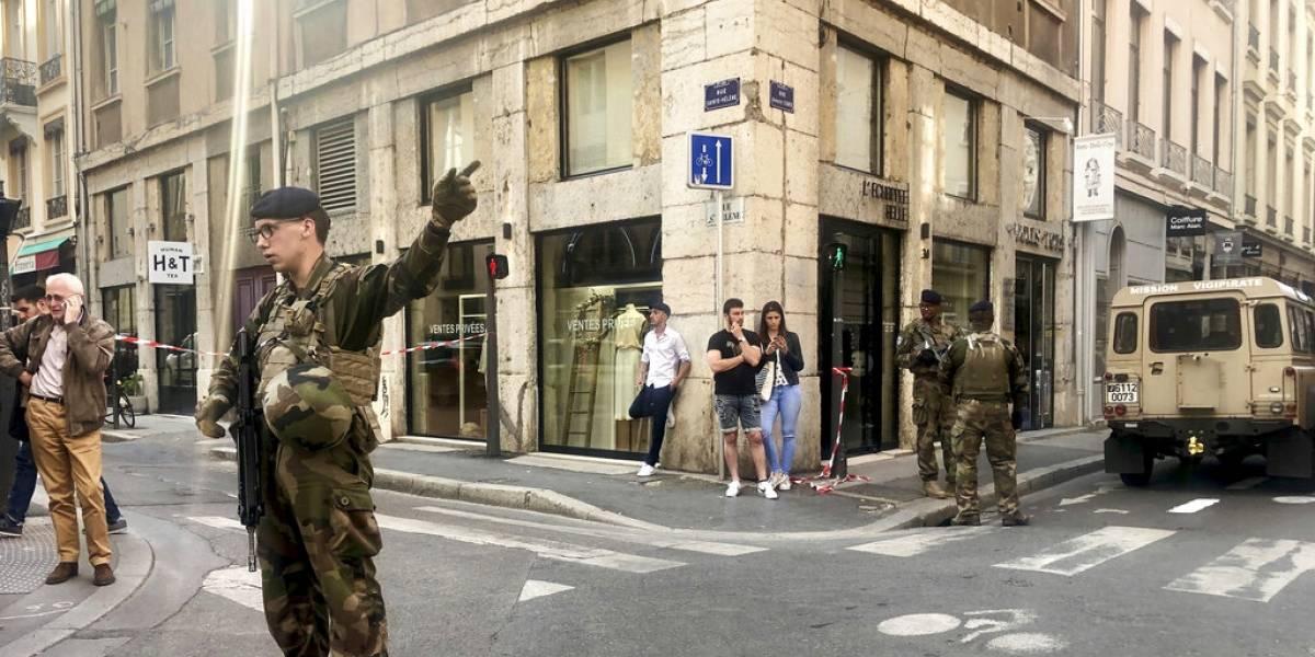 Francia: tres detenidos por la explosión en Lyon que dejó 13 heridos