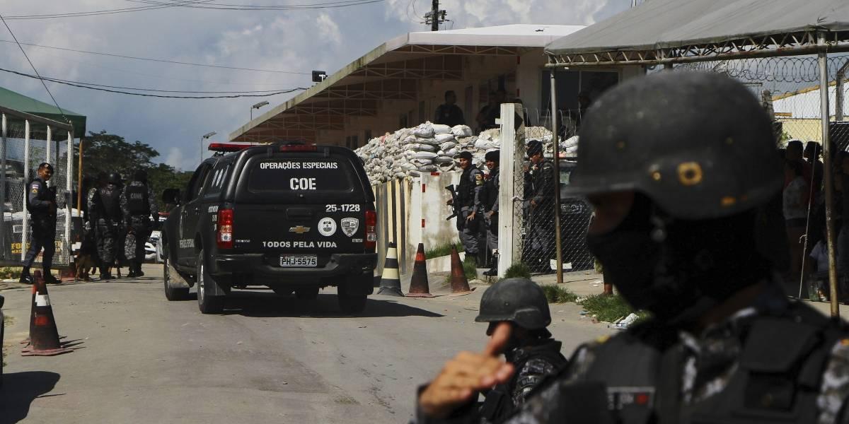 Reportan 42 muertos en tres prisiones del norte de Brasil