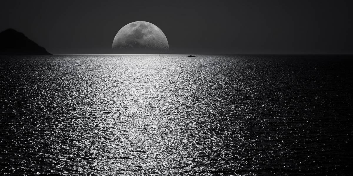Confirman que la cataclísmica formación de la Luna provocó la existencia de agua en la Tierra