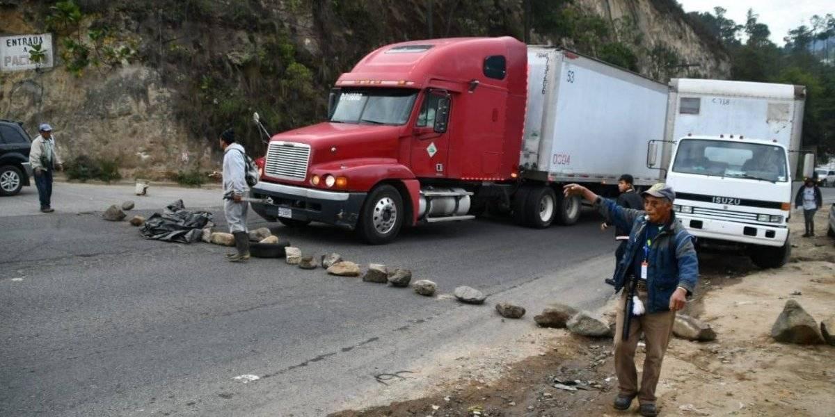 Autoridades comunitarias descartan bloqueos para esta semana en la ruta Cito Zarco