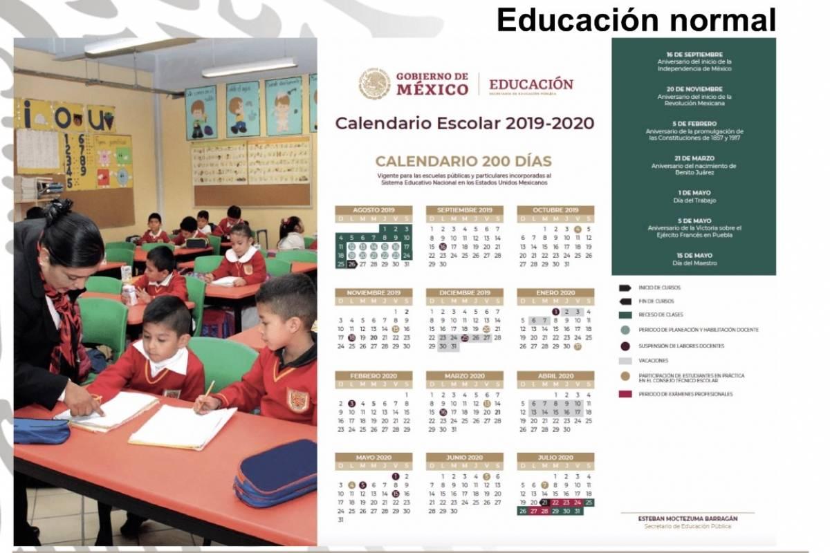 Ciclo Escolar 2019 2020 Puentes Vacaciones Y Dias De Asueto Publimetro Mexico