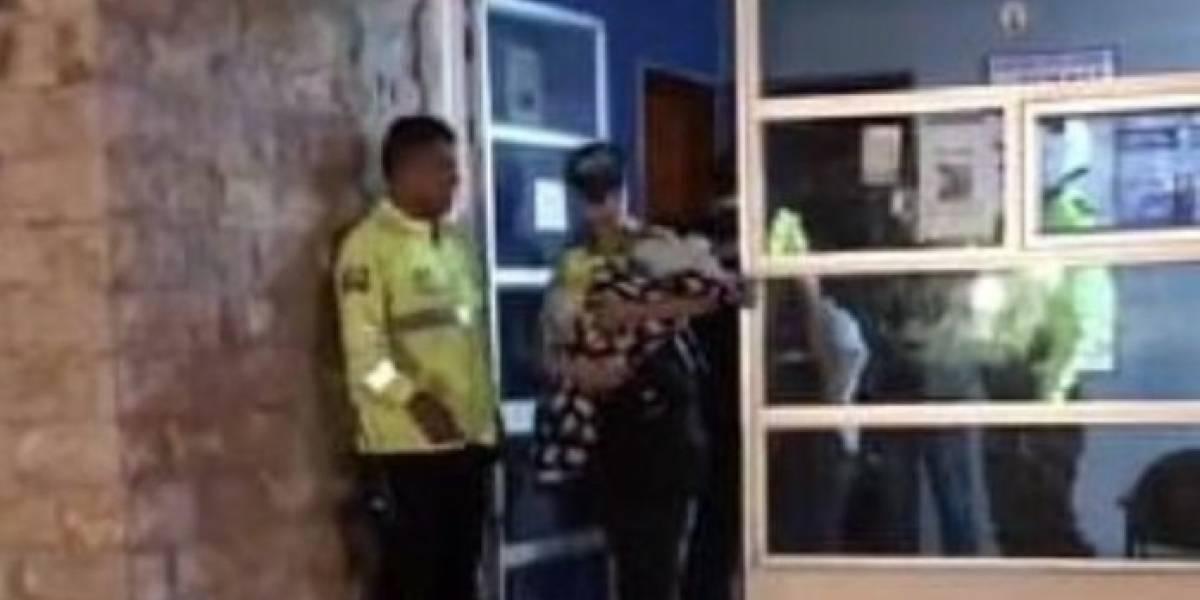 Detienen a padres que abandonaron a bebé en el norte de Quito