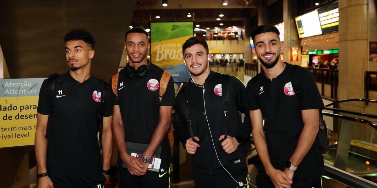 Catar sorprende y es la primera selección en llegar a Brasil para disputar la Copa América