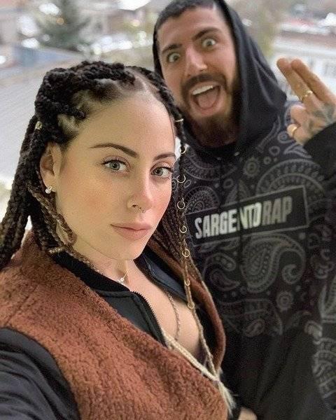 Ignacia Michelson y Sargento Rap