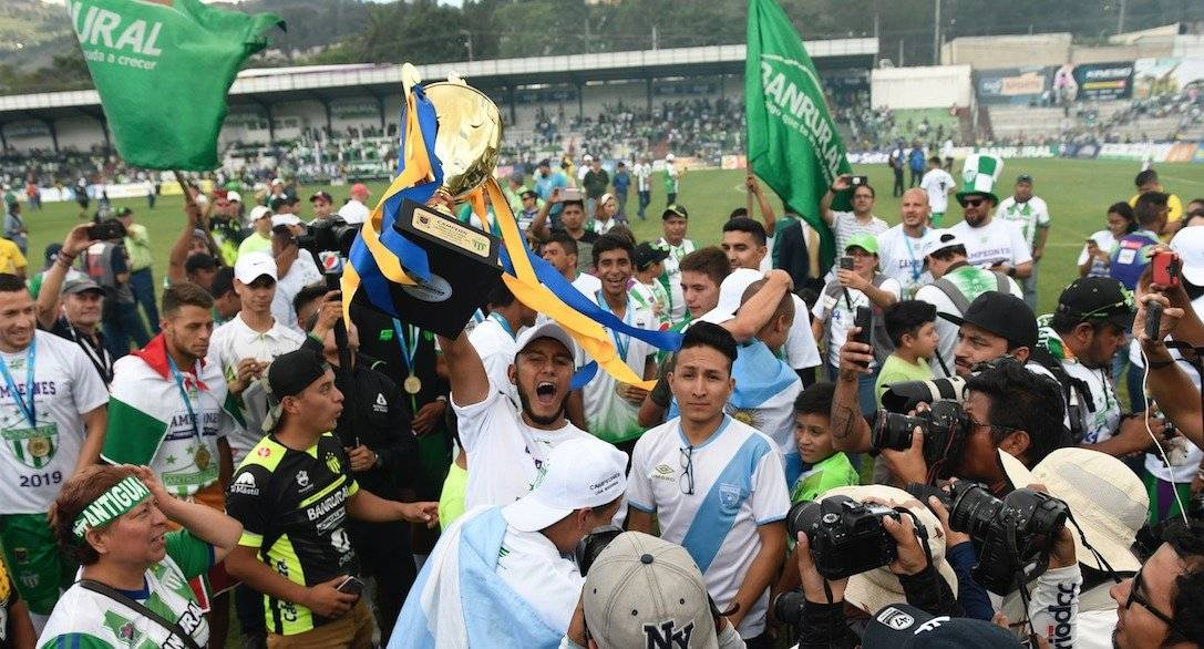 Equipos guatemaltecos Concacaf