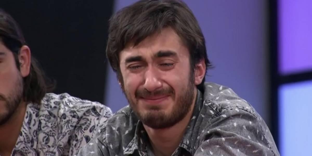 """""""Mis papás esperan tanto de mí..."""": un desconsolado Aníbal provocó lágrimas entre los seguidores de """"MasterChef"""""""