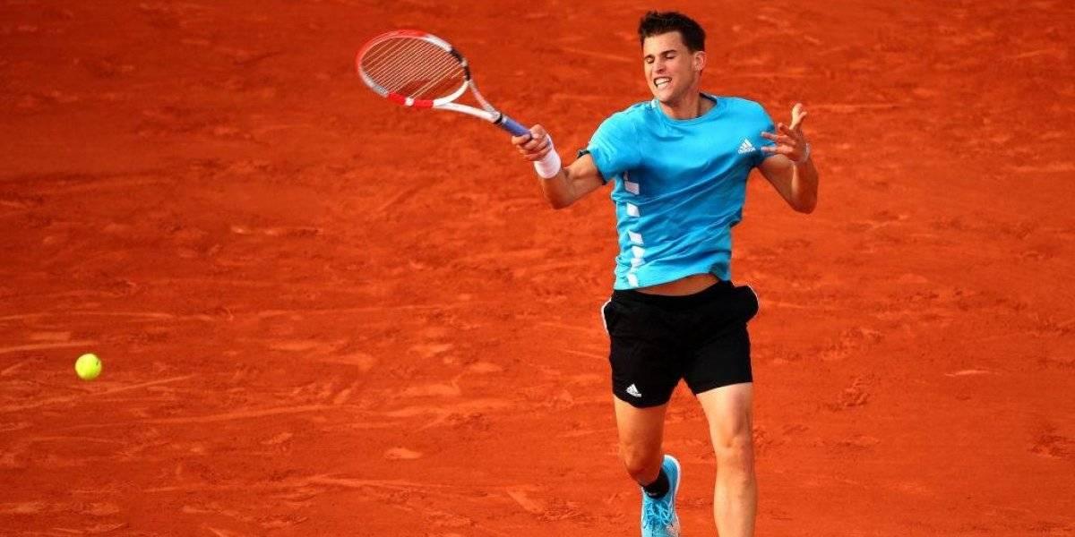 Roland Garros: Dominic Thiem sufrió y Novak Djokovic tuvo un paseo por París