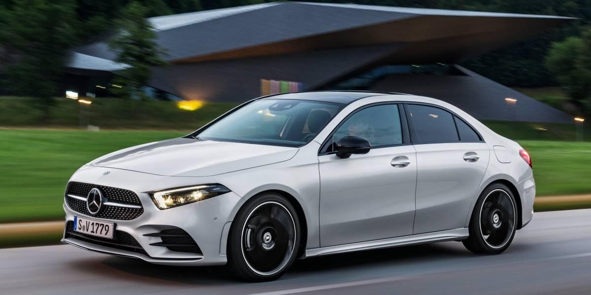 El Clase A de Mercedes-Benz se hace más grande con su versión sedán