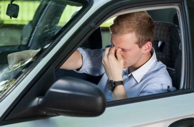 Frustración al conducri