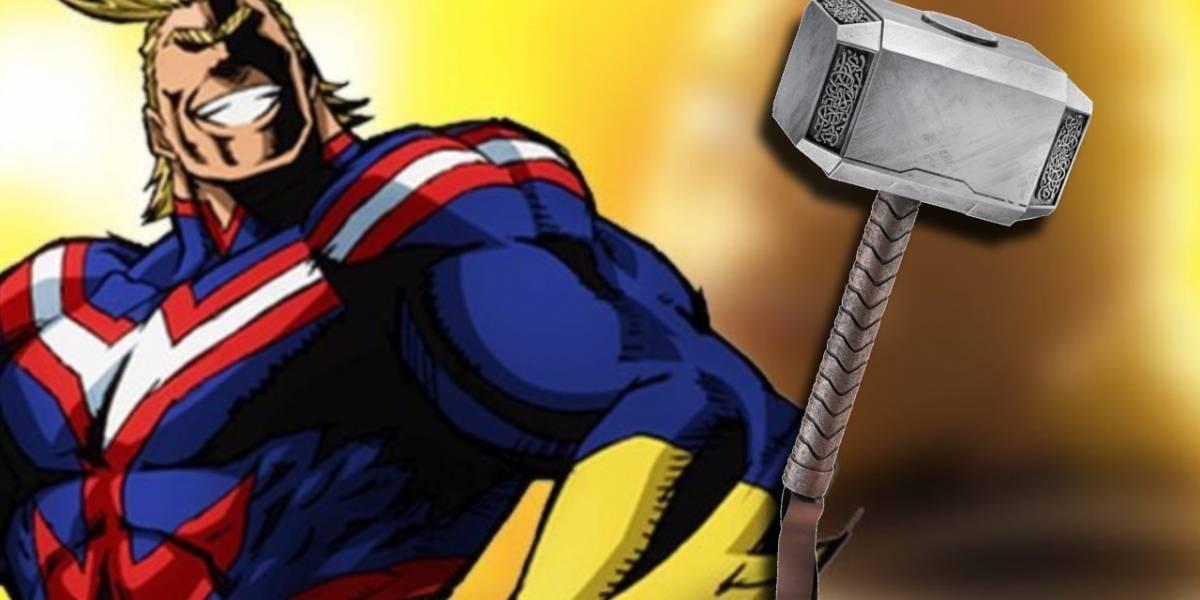 Personajes de Anime y Manga que podrían levantar el martillo de Thor