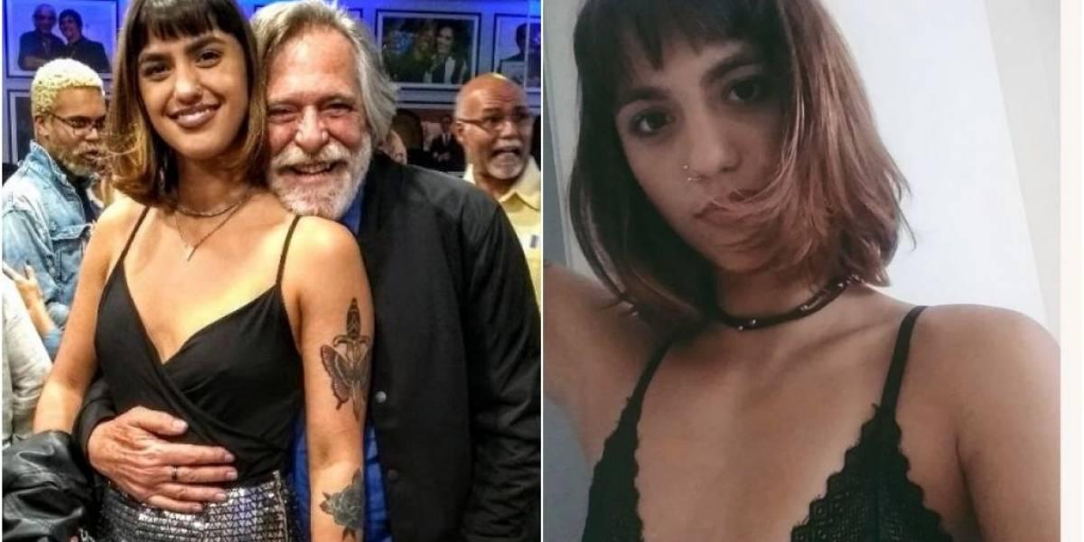 José de Abreu engata namoro com maquiadora 51 anos mais nova