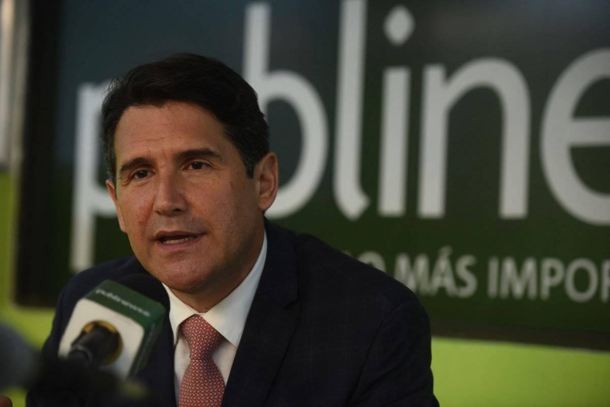 Ricardo Quiñónez, compitió por la alcaldía de Guatemala. Foto: Edwin Bercián
