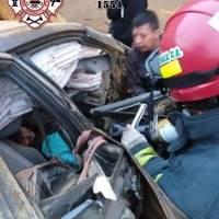 accidente en Km. 54 del libramiento de Chimaltenango
