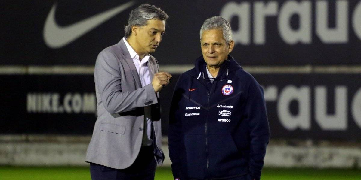 """Sebastián Moreno no le pone exigencias a Rueda: """"Acá no hemos hablado de superar una fase"""""""