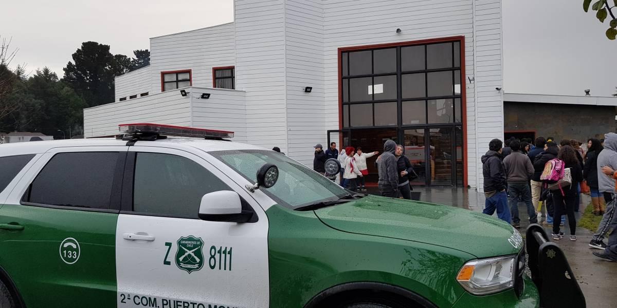 Ataque con arma de fuego en colegio de Puerto Montt: Menor quedó con arresto domiciliario y evaluaciones psiquiátricas