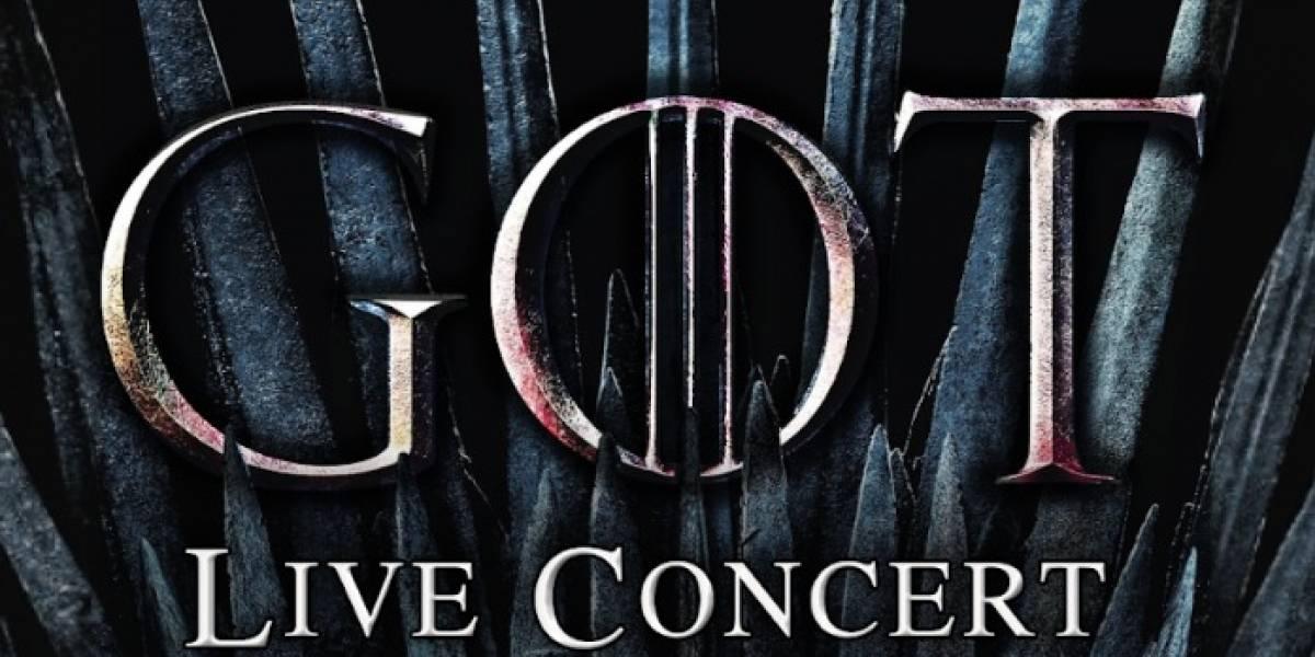 """""""Game of Thrones – Live Concert"""" llega a Chile: revisa el valor de las entradas y cuándo se ponen a la venta"""