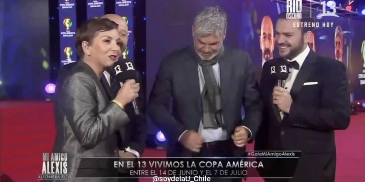 """""""Con esos pateaste a Tezanos"""": La broma de Guarello a Francisca García Huidobro que no le gustó a la animadora"""
