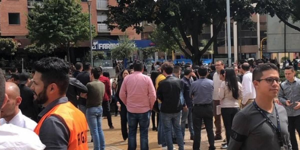 ¡Atención! Evacuan varios edificios en el norte de Bogotá por fuga de gas