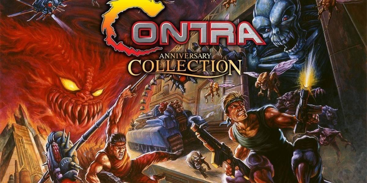 Estos son todos los juegos que se incluirán en Contra: Anniversary Collection