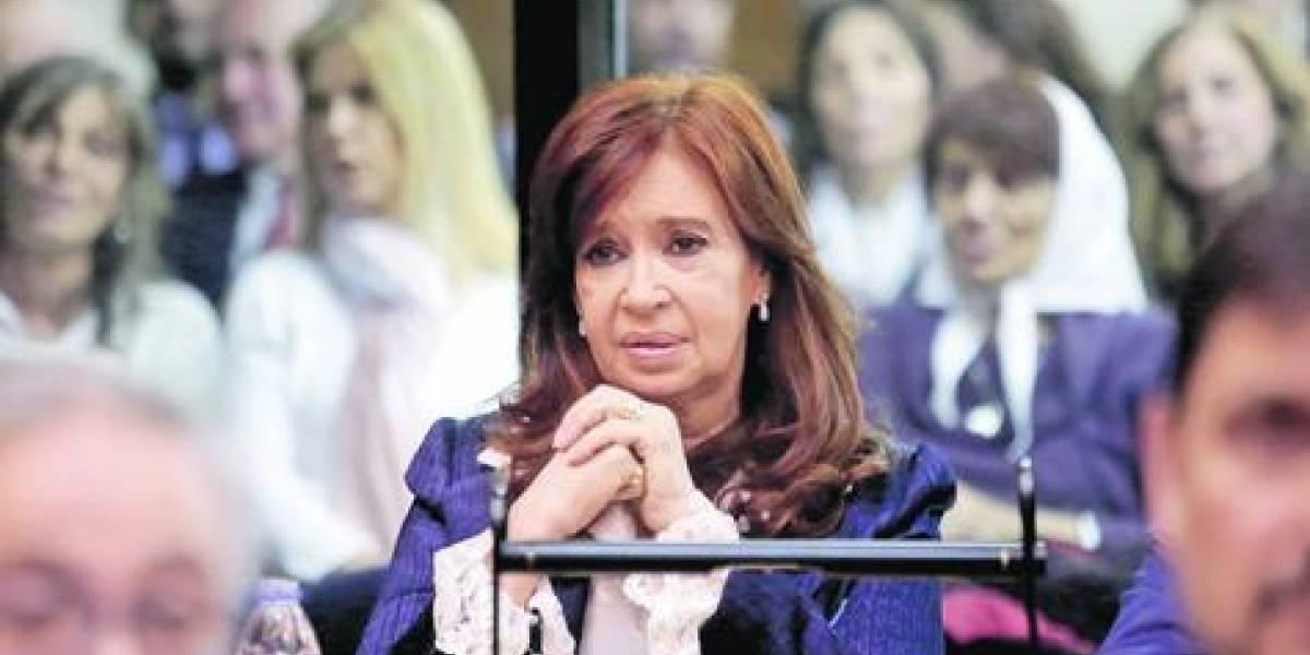 Finalmente Cristina volvió a pisar tribunales
