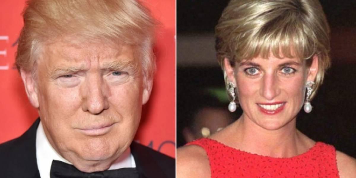 Así fue como las ofensas de Donald Trump también salpicaron a la princesa Diana