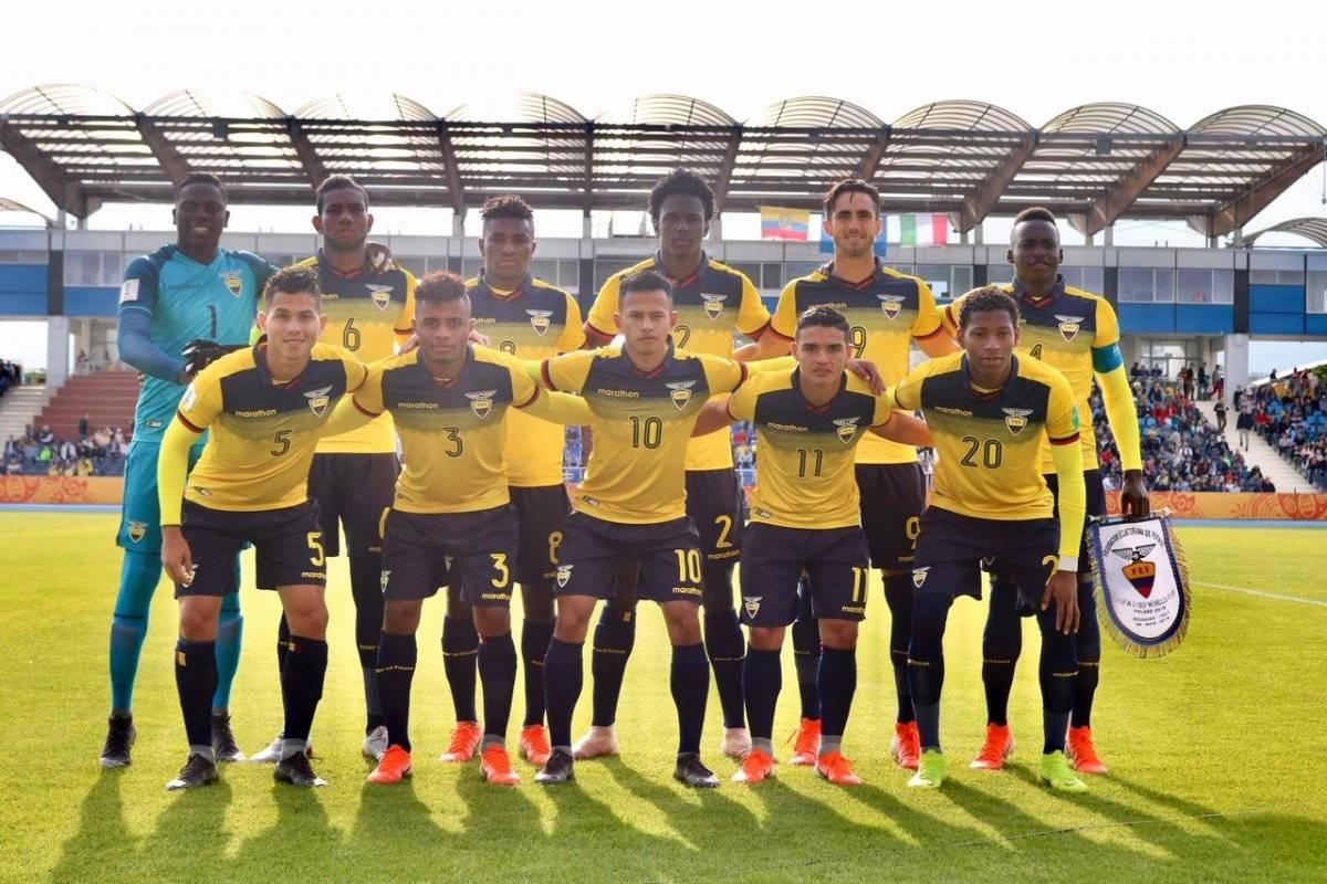 Uruguay Sub 20 vs Ecuador Sub 20: EN VIVO, alineaciones, donde ver el partido por los octavos de final FEF