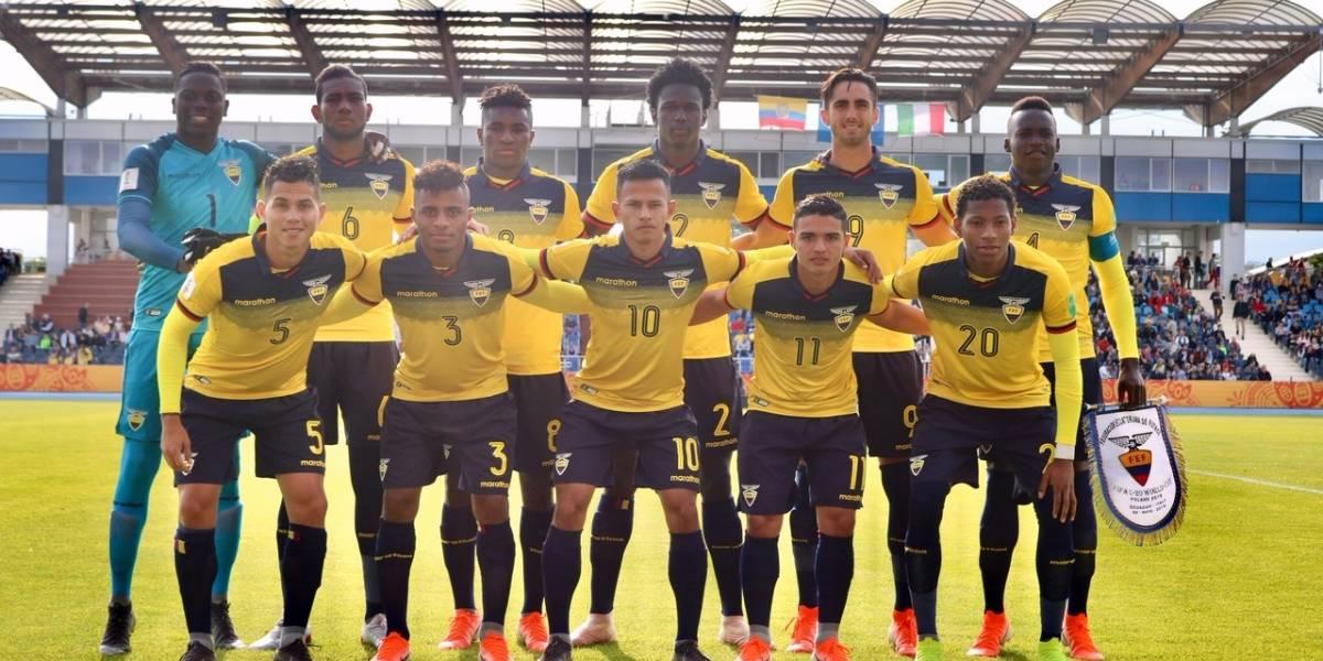 Jugador de Ecuador Sub 20 reveló que no tenía el físico para ser futbolista