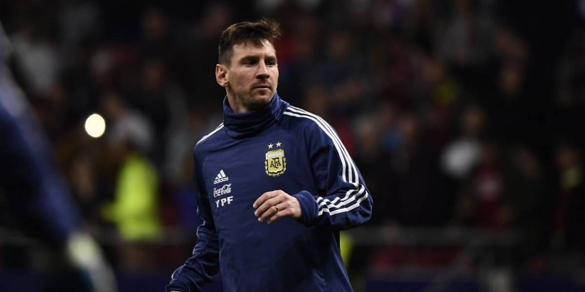 FOTOS. Messi se integra a la selección argentina en Buenos Aires