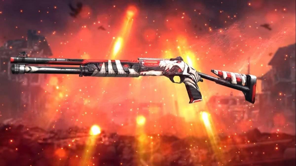 Garena Free Fire' disponibiliza nova skin da 'M1014 Cataclismo ...