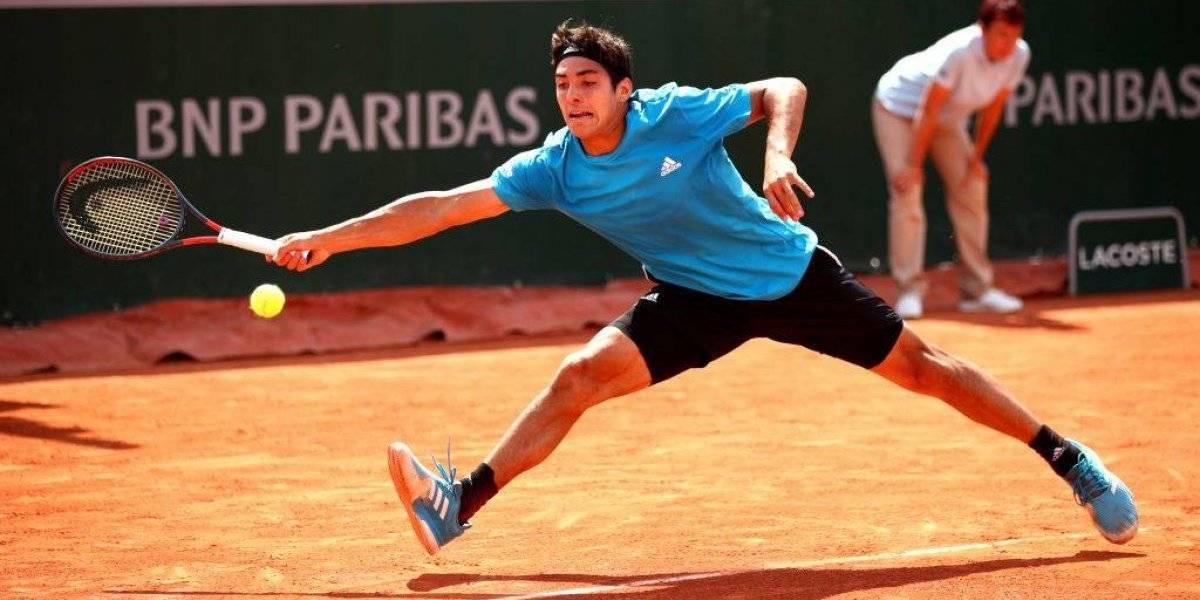 Cristian Garin perdió en el dobles y ahora se concentrará en su duro duelo ante Wawrinka en Roland Garros