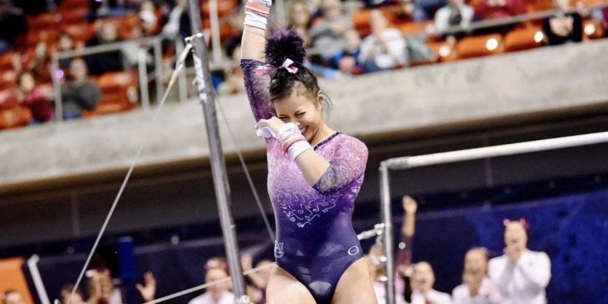 Así va la recuperación de gimnasta Samantha Cerio tras romperse las piernas